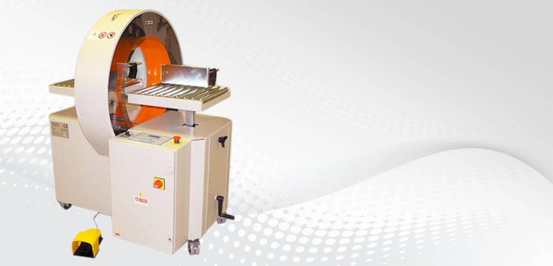 Avvolgipack 40S félautomata spirális fóliázó gép