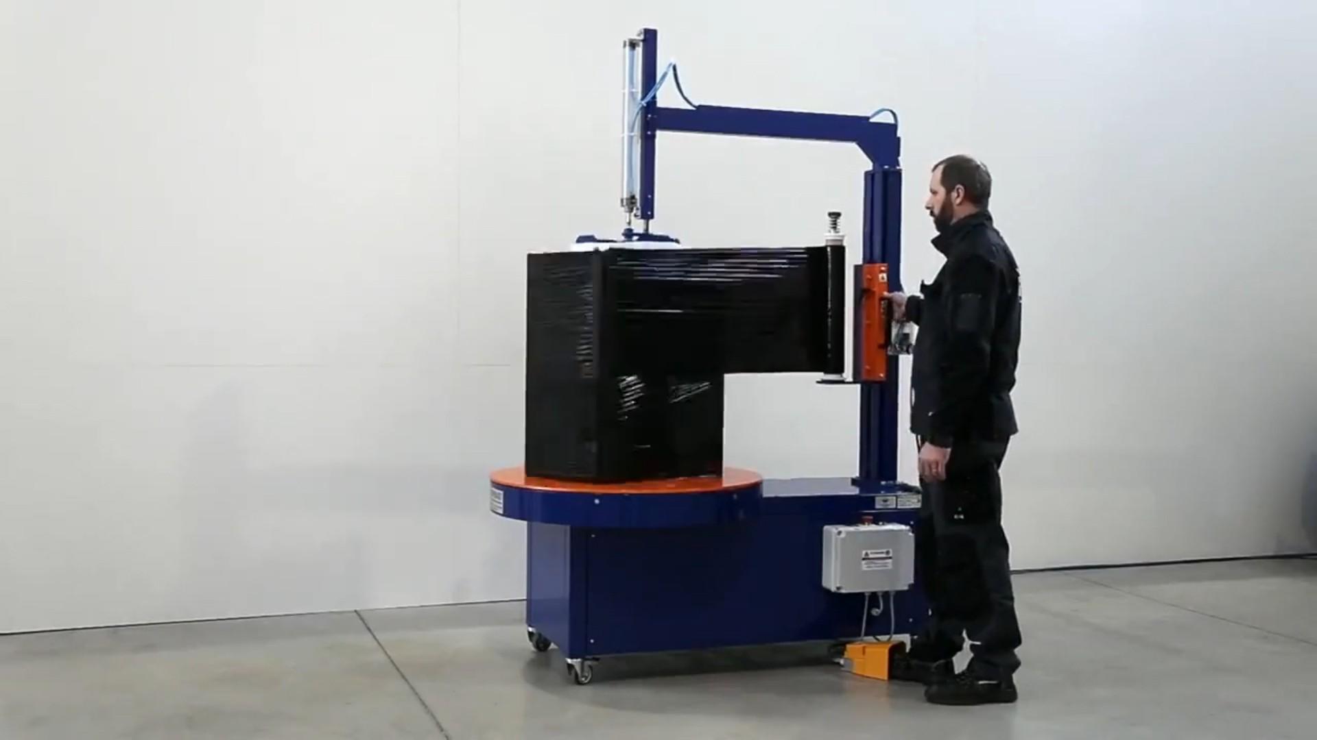 FP BOX félautomata stretchfóliázó gép